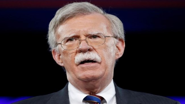 Bolton admits receiving 'tens of thousands of dollars' from terrorist group MKO