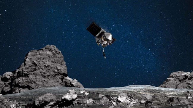 NASA just hours away from first-ever sampling of asteroid's surface