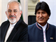 Zarif: Iran ready to expand ties with Bolivia's legitimate gov't