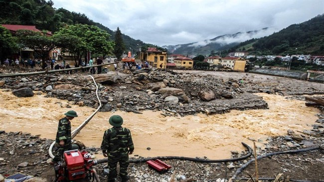Iran sympathizes with Vietnam over severe flood damage