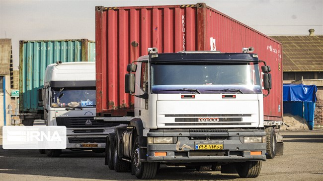 Over 4,000 trucks transport commodities from South Khorasan to Afghanistan