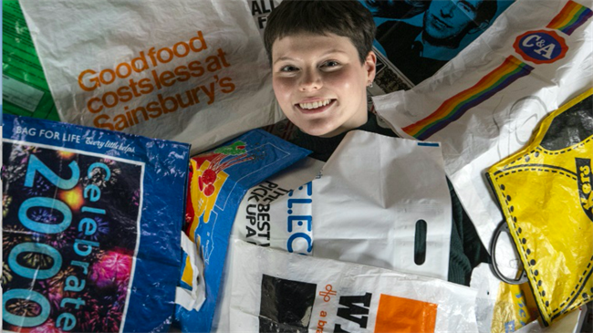 Glasgow artist launches plastic bag museum