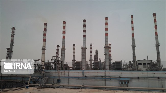 South Pars eighth refinery processes over 10bcm of gas in seven months