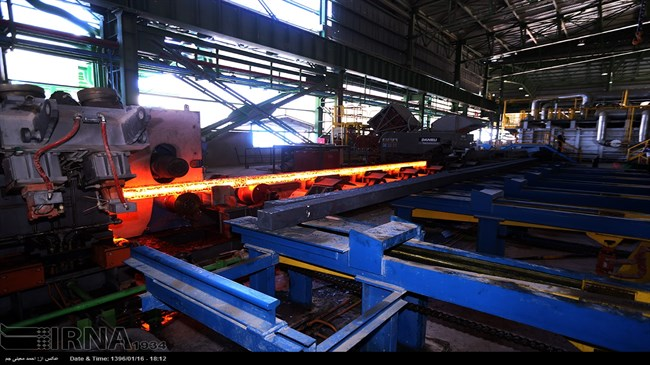 Iran's seven-month steel production nears 17m tons