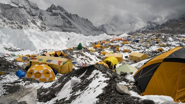 Microplastic pollution found near summit of Mount Everest