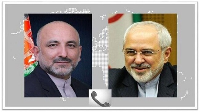Zarif congratulates reinstatement of Afghan counterpart