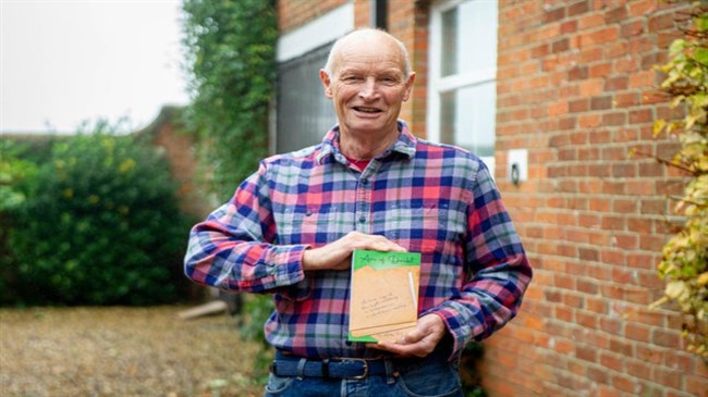 British dyslexic pensioner writes entire book on his phone using one finger