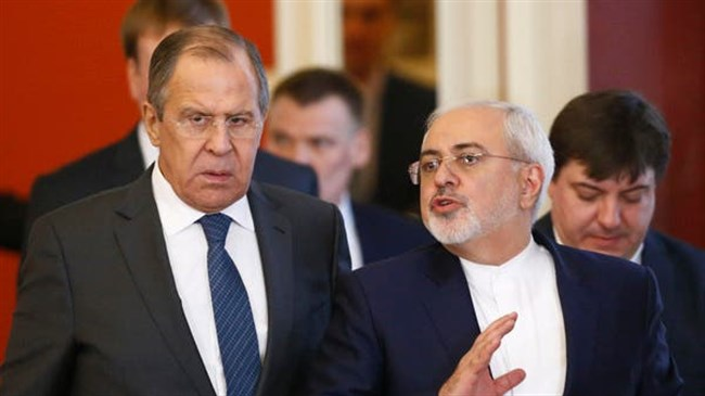 Iranian, Russian FMs discuss regional issues