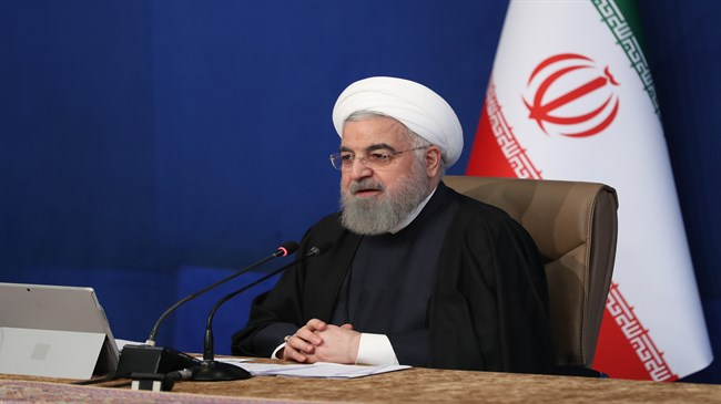 Rouhani says 'easy to resolve' Iran-US issue