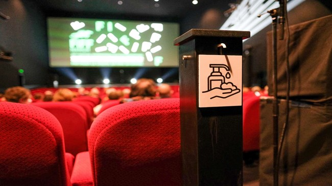 Belgium's cinemas call for help following movie theaters closure extension