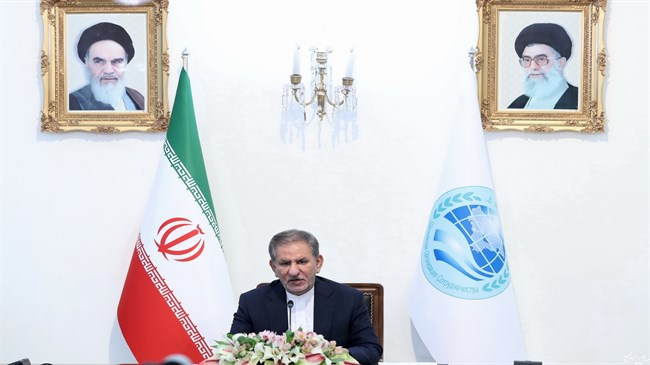Jahangiri invites SCO members to participate in Chabahar-Zahedan railway project