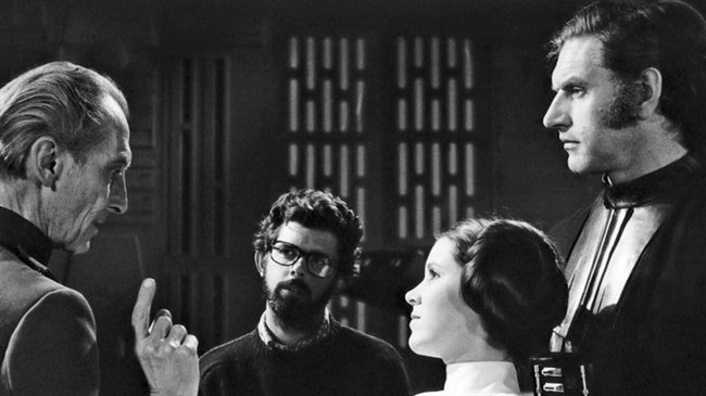 George Lucas remembers 'imposing' Darth Vader actor Prowse