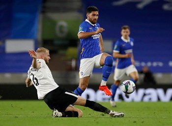 Brighton's Jahanbakhsh tipped for winter loan move, British paper says