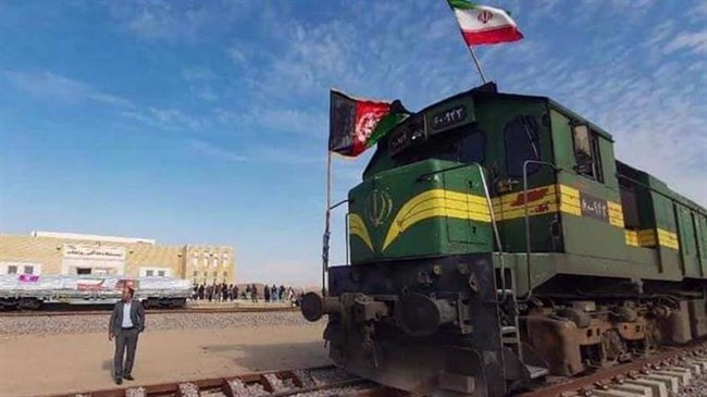 Iran's first export consignment reaches Afghanistan via Khaf-Herat railroad
