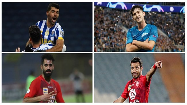Four Iranians nominated for Best Footballer in Asia 2020