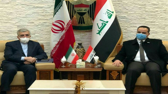 Iranian energy minister discusses ties, payment of arrears with Iraqi officials