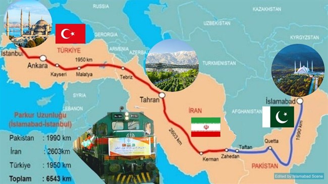 Iran, Turkey, Pakistan plan to revive railway line: Report