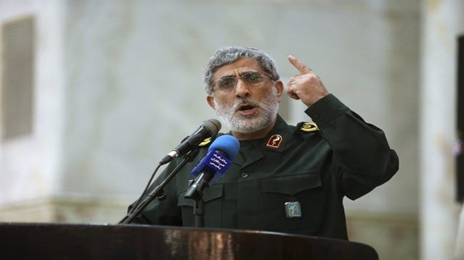 IRGC's Quds Force chief: US may face revenge at home