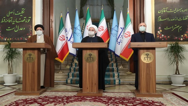 Rouhani: No concern about coronavirus vaccine purchase