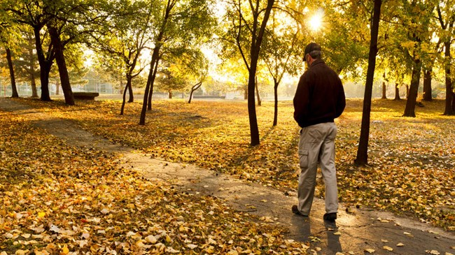Need to reduce work-related stress? It's a walk in the park