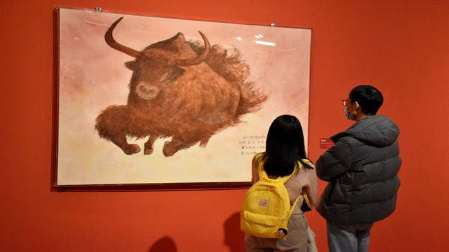 Chinese museum rings in Year of the Ox by holding art expo