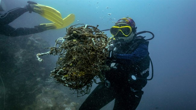 Thailand's 'ghost' fishing nets help COVID fight