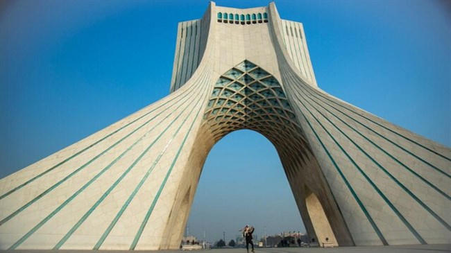 Iran's 'Sky Wall' will be staged on the walls of Azadi Tower