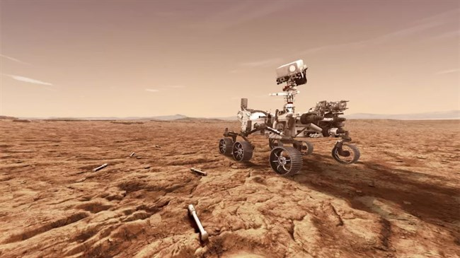 NASA's Perseverance rover in home stretch of journey to Red Planet