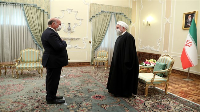 Rouhani: Iran-Iraq strategic bonds ensure regional stability