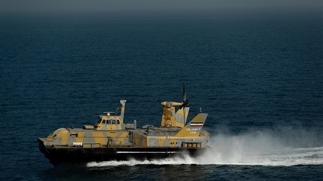 First indigenous hovercraft to join Iran's Navy next year: Navy commander