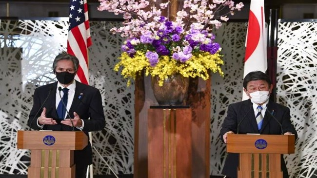 Beijing: US-Japan statement malicious attack on China's foreign policy