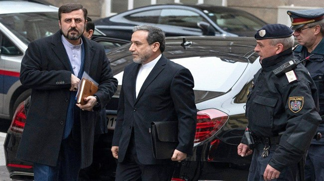 Araqchi in Vienna to attend meeting of JCPOA Joint Commission