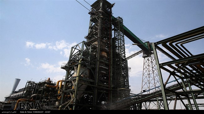 Iran reports 9% rise in annual sponge iron output