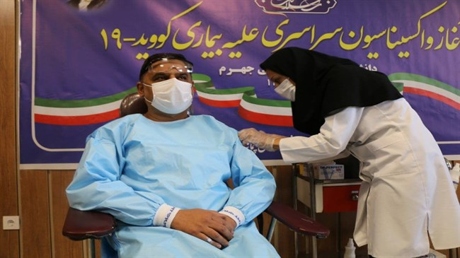 All Iranians above 18 to be vaccinated against COVID-19 by end of fall: Ministry